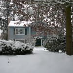 In Portland, the big story is snow