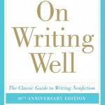Reading list for July 20: William Zinsser and On Writing Well