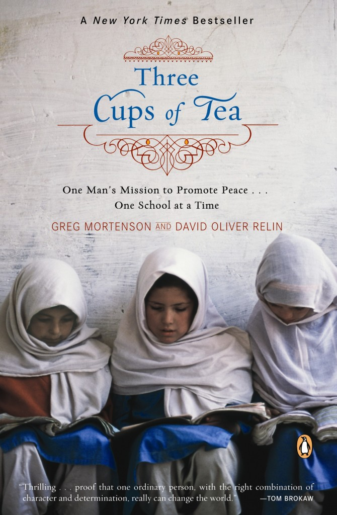 Three Cups of Tea book jacket
