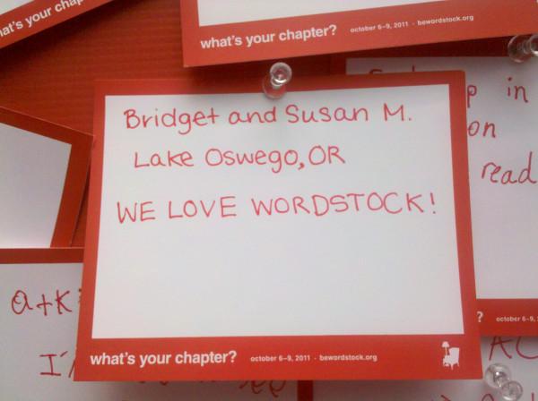 Wordstock 2011