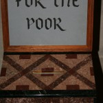 Church poor box