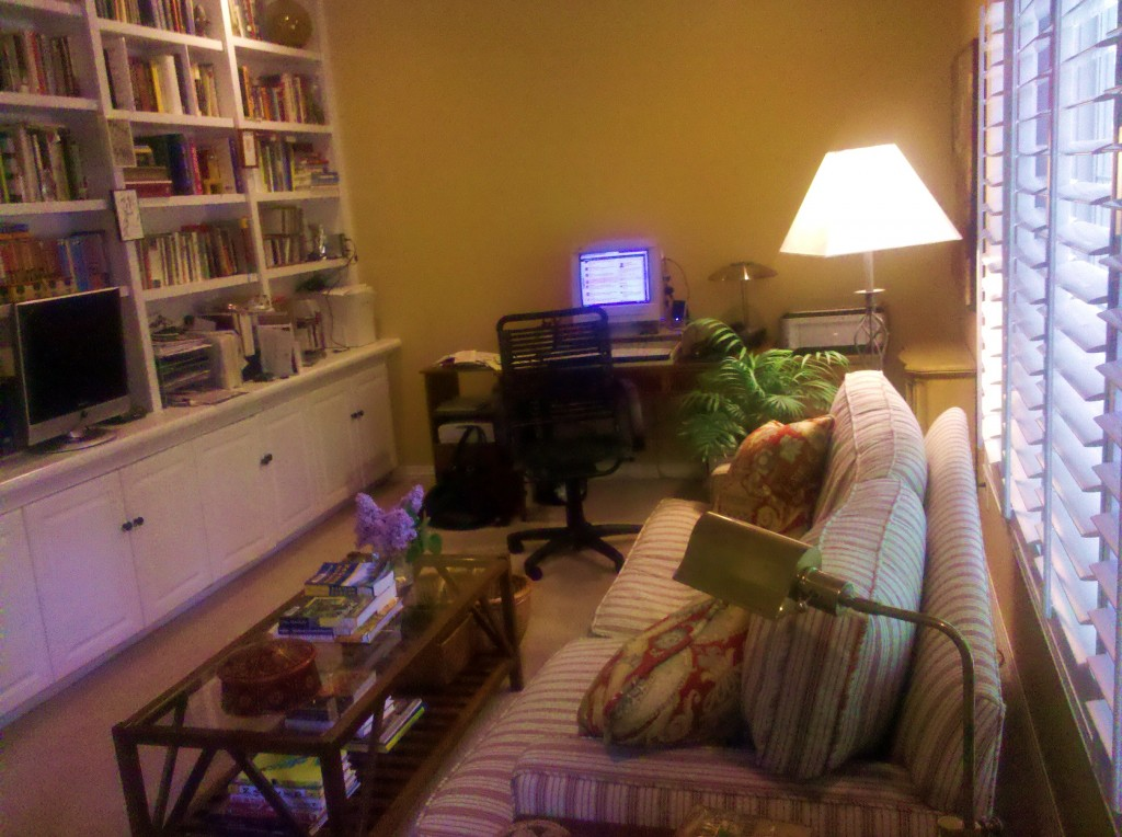 Freelance writer home office
