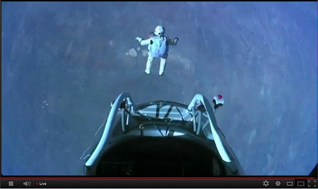 Felix Baumgartner's leap of faith, Oct. 14, 2012