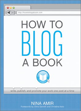 How to Blog a Book book cover
