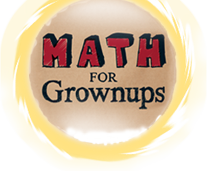 Math for Grownups logo