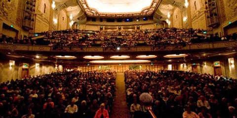 Portland Literary Arts Audience At The Schnitz WordCount - Schnitzer theater portland