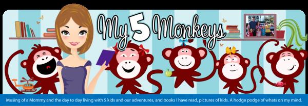 My 5 Monkeys blog