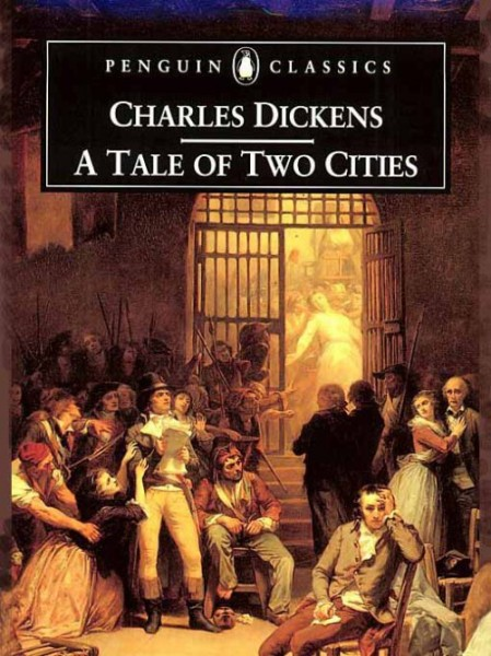 Tale of Two Cities book cover